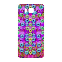 Festive Metal And Gold In Pop Art Samsung Galaxy Alpha Hardshell Back Case by pepitasart