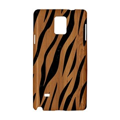 Skin3 Black Marble & Light Maple Wood (r) Samsung Galaxy Note 4 Hardshell Case by trendistuff