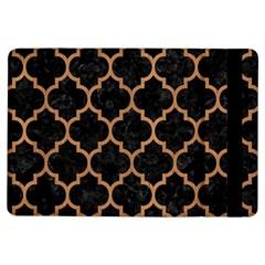 Tile1 Black Marble & Light Maple Wood Ipad Air Flip by trendistuff