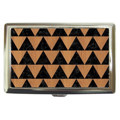 Triangle2 Black Marble & Light Maple Wood Cigarette Money Cases by trendistuff