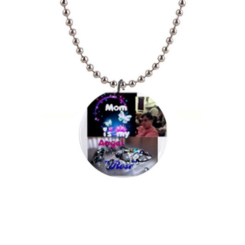 Christine Birthstone Rose April By Shelleyww42 Gmail Com   1  Button Necklace   Z2o4fegci45t   Www Artscow Com Front