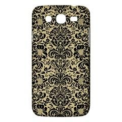 Damask2 Black Marble & Light Sand (r) Samsung Galaxy Mega 5 8 I9152 Hardshell Case  by trendistuff