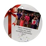 Jenn Christmas - Ornament (Round)