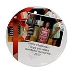 famliy Christmas - Ornament (Round)