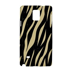 Skin3 Black Marble & Light Sand Samsung Galaxy Note 4 Hardshell Case by trendistuff