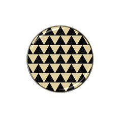 Triangle2 Black Marble & Light Sand Hat Clip Ball Marker (10 Pack) by trendistuff
