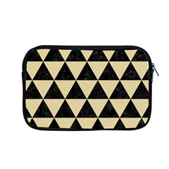 Triangle3 Black Marble & Light Sand Apple Macbook Pro 13  Zipper Case by trendistuff
