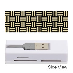 Woven1 Black Marble & Light Sand Memory Card Reader (stick)  by trendistuff