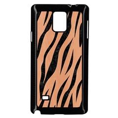 Skin3 Black Marble & Natural Red Birch Wood (r) Samsung Galaxy Note 4 Case (black) by trendistuff