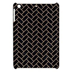 Brick2 Black Marble & Natural White Birch Wood Apple Ipad Mini Hardshell Case by trendistuff