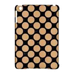 Circles2 Black Marble & Natural White Birch Wood Apple Ipad Mini Hardshell Case (compatible With Smart Cover) by trendistuff