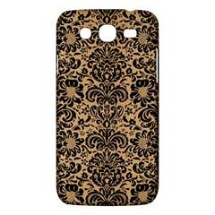 Damask2 Black Marble & Natural White Birch Wood (r) Samsung Galaxy Mega 5 8 I9152 Hardshell Case  by trendistuff