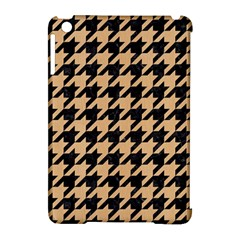 Houndstooth1 Black Marble & Natural White Birch Wood Apple Ipad Mini Hardshell Case (compatible With Smart Cover) by trendistuff
