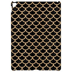Scales1 Black Marble & Natural White Birch Wood Apple Ipad Pro 12 9   Hardshell Case by trendistuff