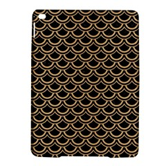 Scales2 Black Marble & Natural White Birch Wood Ipad Air 2 Hardshell Cases by trendistuff