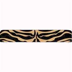 Skin2 Black Marble & Natural White Birch Wood Small Bar Mats by trendistuff