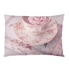 Shabby Chic High Tea Pillow Case by 8fugoso