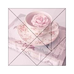 Shabby Chic High Tea Acrylic Tangram Puzzle (6  X 6 ) by 8fugoso