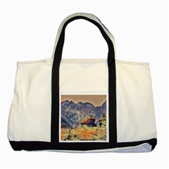 Impressionism Two Tone Tote Bag by 8fugoso