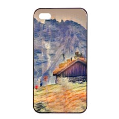 Impressionism Apple Iphone 4/4s Seamless Case (black) by Love888
