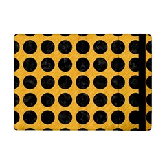 Circles1 Black Marble & Orange Colored Pencil (r) Ipad Mini 2 Flip Cases by trendistuff