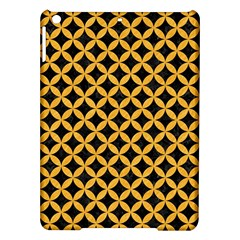 Circles3 Black Marble & Orange Colored Pencil Ipad Air Hardshell Cases by trendistuff