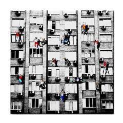 Jump, Jump Face Towel by Valentinaart