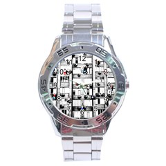 Jump, Jump Stainless Steel Analogue Watch by Valentinaart