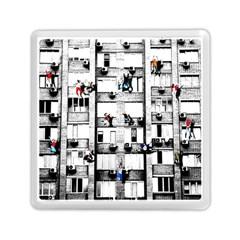 Jump, Jump Memory Card Reader (square)  by Valentinaart