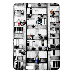 Jump, Jump Kindle Fire Hdx Hardshell Case by Valentinaart