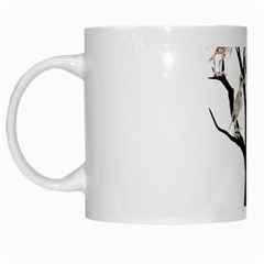 Dead Tree  White Mugs by Valentinaart