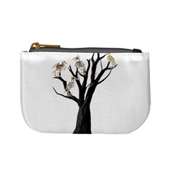 Dead Tree  Mini Coin Purses by Valentinaart