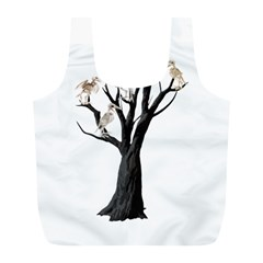 Dead Tree  Full Print Recycle Bags (l)  by Valentinaart