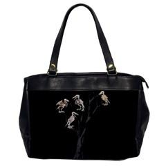Dead Tree  Office Handbags by Valentinaart