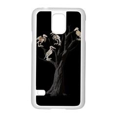 Dead Tree  Samsung Galaxy S5 Case (white) by Valentinaart