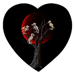 Dead Tree  Jigsaw Puzzle (heart) by Valentinaart