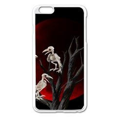 Dead Tree  Apple Iphone 6 Plus/6s Plus Enamel White Case by Valentinaart