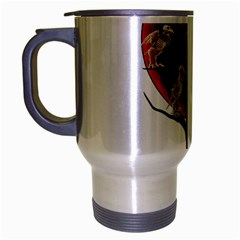 Dead Tree  Travel Mug (silver Gray) by Valentinaart