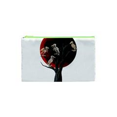 Dead Tree  Cosmetic Bag (xs) by Valentinaart