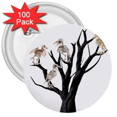 Dead Tree  3  Buttons (100 Pack)  by Valentinaart