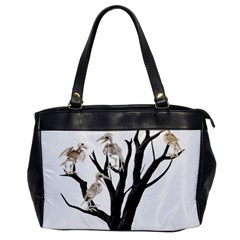 Dead Tree  Office Handbags by Valentinaart