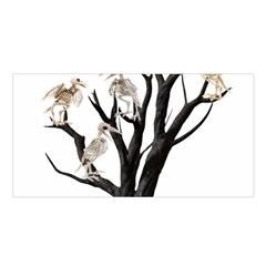 Dead Tree  Satin Shawl by Valentinaart