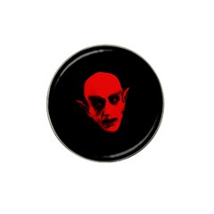 Dracula Hat Clip Ball Marker by Valentinaart