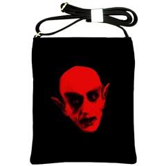 Dracula Shoulder Sling Bags by Valentinaart