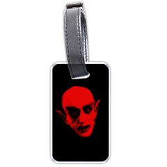 Dracula Luggage Tags (one Side)  by Valentinaart