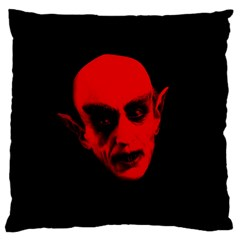 Dracula Large Cushion Case (one Side) by Valentinaart