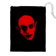 Dracula Drawstring Pouches (xxl) by Valentinaart