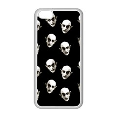 Dracula Apple Iphone 5c Seamless Case (white) by Valentinaart
