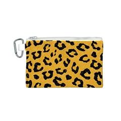 Skin5 Black Marble & Orange Colored Pencil Canvas Cosmetic Bag (s) by trendistuff
