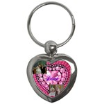 christine keychain - Key Chain (Heart)